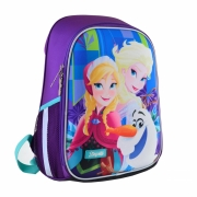 """Рюкзак школьный каркасный 1Вересня H-27 """"Frozen"""""""
