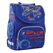 "Рюкзак школьный каркасный Smart PG-11 ""Space"""