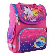 """Рюкзак школьный каркасный Smart PG-11 """"Unicorn"""""""