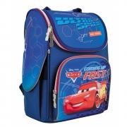 """Рюкзак школьный каркасный 1 Вересня H-11 """"Cars"""""""