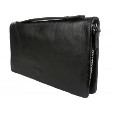 Мужское портмоне-клатч с ручкой