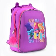 Рюкзак школьный каркасный 1 Вересня Троли