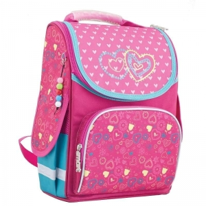 Рюкзак школьный каркасный Smart (1 Вересня) Сердца