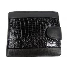 Мужской кожаный классический кошелек