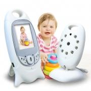 """Видеоняня BabySmile Dolphin (ночное видение, датчик температуры, активация голосом, высокочувствительный микрофон, LCD дисплей размером 2"""", колыбельные мелодии)"""