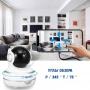 Видеоняня BabySmile Panda (автоматический поворот за ребенком, датчик движения, угол обзора P345°, 2MPX, 1080P, ночное видение, аудио двухсторонняя связь)