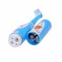 Детская электрическая зубная щетка BabySmile Kids (2 сменные насадки для детей, 8800 оборотов в мин., музыкальный таймер на 4 мелодии, эргономичная ручка)