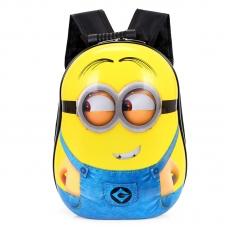 Школьный каркасный 3D ранец Миньон