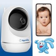 Видеоняня BabySmile Крош (автоматический поворот за ребенком, датчик движения, 1080P, ночное видение)