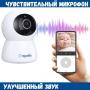 Видеоняня BabySmile Panda 2.0 (автоматический поворот за ребенком, датчик движения, 2MPX, 1080P, ночное видение, аудио двухсторонняя связь)