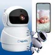 Видеоняня BabySmile Robot (автоматический поворот за ребенком, датчик движения, 1080P, ночное видение)