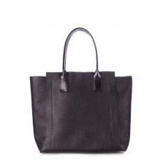 Кожаная сумка POOLPARTY Mania замечательного качества