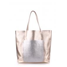 Кожаная сумка POOLPARTY Mania великолепного качества