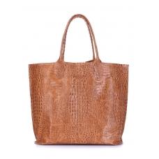 Кожаная сумка POOLPARTY Amphibia великолепного качества