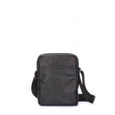 Мужская кожаная сумка на плечо POOLPARTY замечательного качества