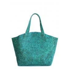 Кожаная сумка POOLPARTY Fiore замечательного качества