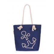Коттоновая сумка с якорем POOLPARTY