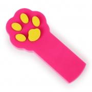 Игрушка для кошек светодиодная Лапка-лазер красная (лазерная указка, питание 2 батарейки ААА)