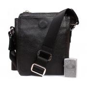 Небольшая мужская кожаная сумочка для водительских документов и прочих мелочей