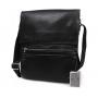 Стильная мужская кожаная сумка для повседневного использования с плечевым ремнем