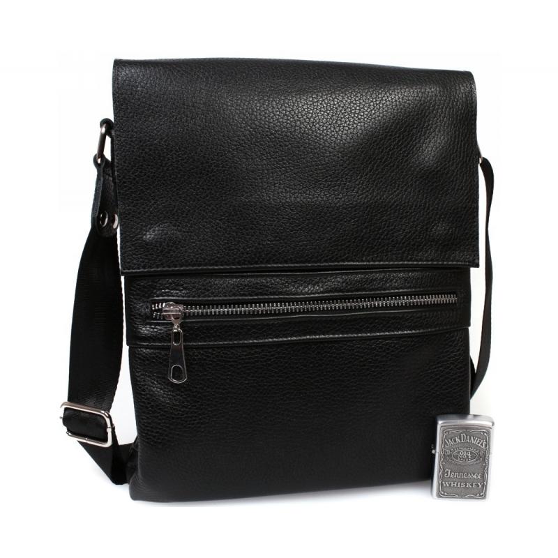 9aac6f4a00a4 Стильная мужская кожаная сумка для повседневного использования с плечевым  ремнем купить