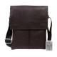 Элитная мужская сумка из натуральной кожи CasualStyle SM-4382 коричневая