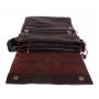 Мужская кожаная сумка через плечо с клапаном коричневая выбрать