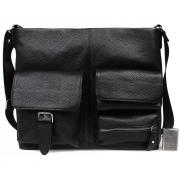 Оригинальная деловая кожаная сумка для документов А4 и ноутбука