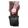 Престижная мужская кожаная сумка с ручкой и ремнем через плечо подобрать