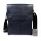 Мужская кожаная сумка через плечо CasualStyle SM-4383 синяя