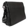 Деловая кожаная сумка под документы А4 и ноутбук купить