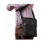 Кожаная мужская повседневная сумка через плечо от производителя купить