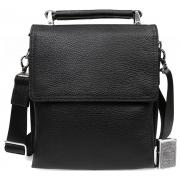 Повседневная мужская кожаная сумочка для документов и личных вещей