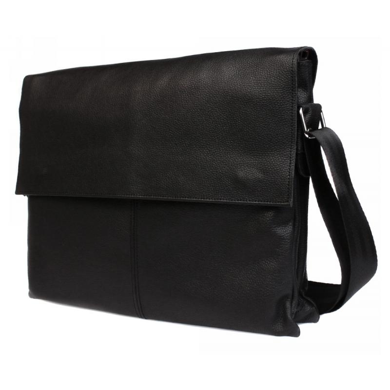 090cc8a0364a Деловая кожаная сумка на каждый день для ноутбука и документов А4 купить