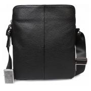 Кожаный мужской мессенджер - сумка через плечо