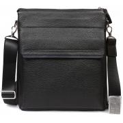 Стильная деловая кожаная мужская сумка для документов формата А4