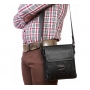 Стильная мужская кожаная сумка небольшого размера формата А5 подобрать