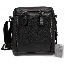 Стильная мужская кожаная сумка небольшого размера