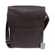 Стильная сумка из коричневой кожи формата А4