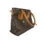 Элегантная сумка шоколадно-коричневого цвета