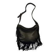 Женская сумка с бахромой