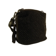 Элегантная черная сумочка-клатч