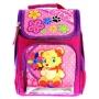 школьный рюкзак Vombato Мишка с цветами