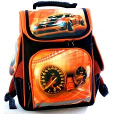Vombato ортопедический ранец Hot Wheels