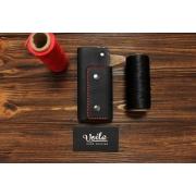 Ключница ручной работы VOILE vl-ck1-blk-red