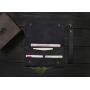 Кожаный мини-клатч ручной работы VOILE vl-cl2-blu