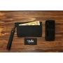 Кошелек-чехол для телефона из кожи ручной работы VOILE vl-lw3-kblk