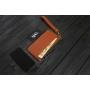 Кошелек-чехол для телефона из кожи ручной работы VOILE vl-lw3-kcog-brn