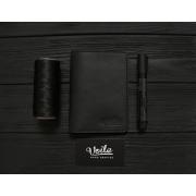 Мужской кошелёк обложка ручной работы VOILE vl-cvw1-blk