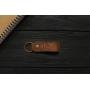Женский кожаный кошелек ручной работы VOILE vl-lw2w-lbrn-tbc
